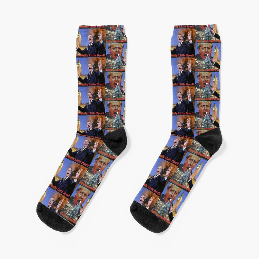 Have A Very Brexit Christmas Socks