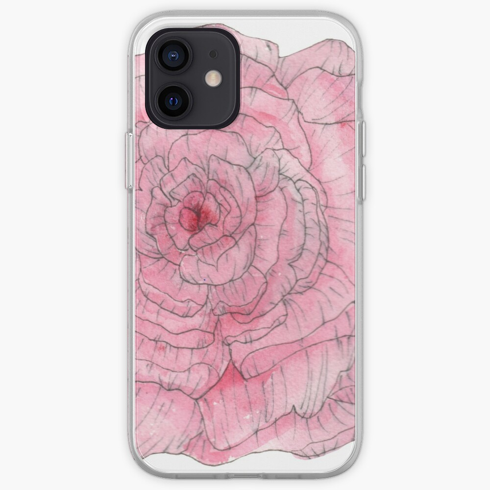 Watercolor Peony iPhone Case & Cover