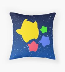 Lumas (Yellow, Red, Blue, Green) Throw Pillow