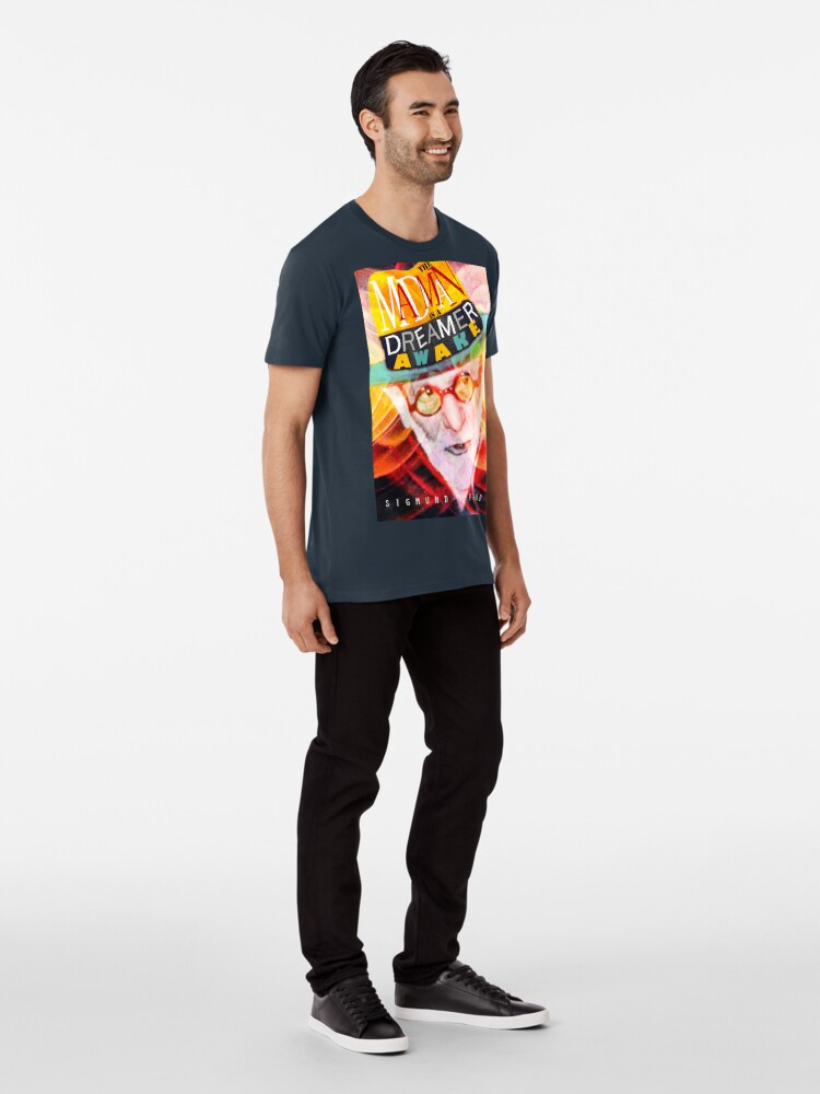 Alternate view of Sigmund Freud Quote Premium T-Shirt
