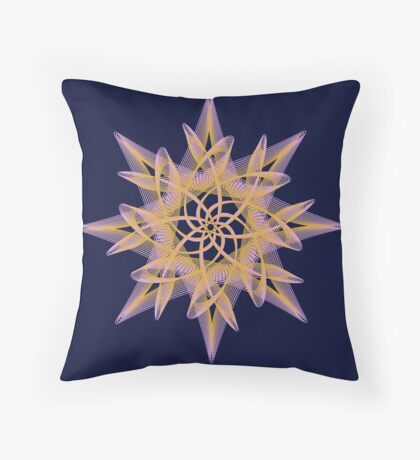 Delicate Star  Throw Pillow