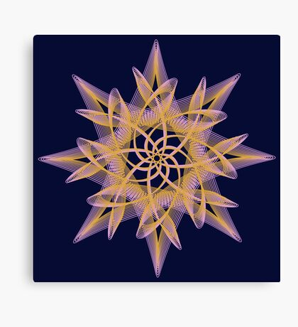 Delicate Star  Canvas Print