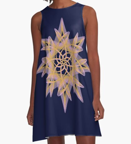 Delicate Star  A-Line Dress