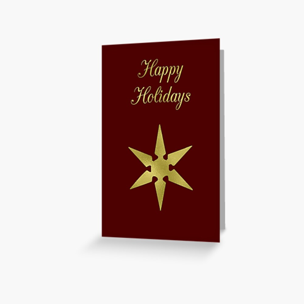 Happy Holidays Greeting Cards Greeting Card