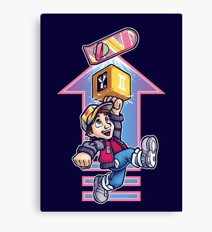 Super Future Bros Part 2 Canvas Print