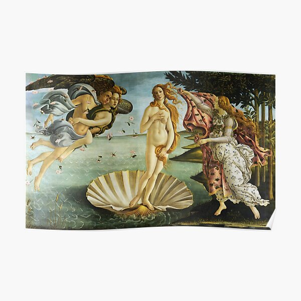 "Sandro Botticelli ""The Birth of Venus"" 1. Poster"