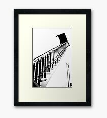 Stairs Crown Point Court House Framed Print