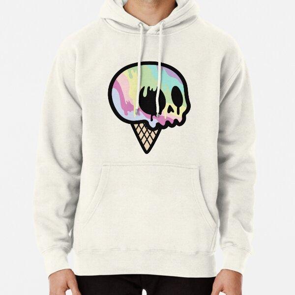 Ice Cream Skull Pullover Hoodie