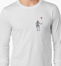 Cylon Centurion with Red Balloon T-Shirt