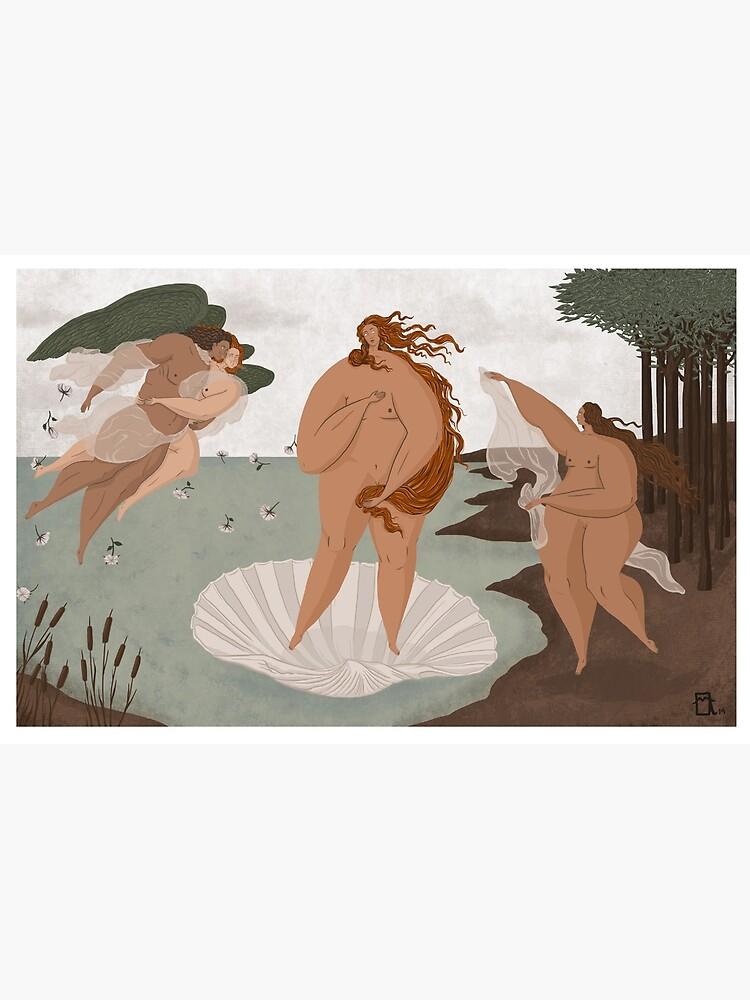 The Birth of Venus - Sandro Botticelli by mariaangelo
