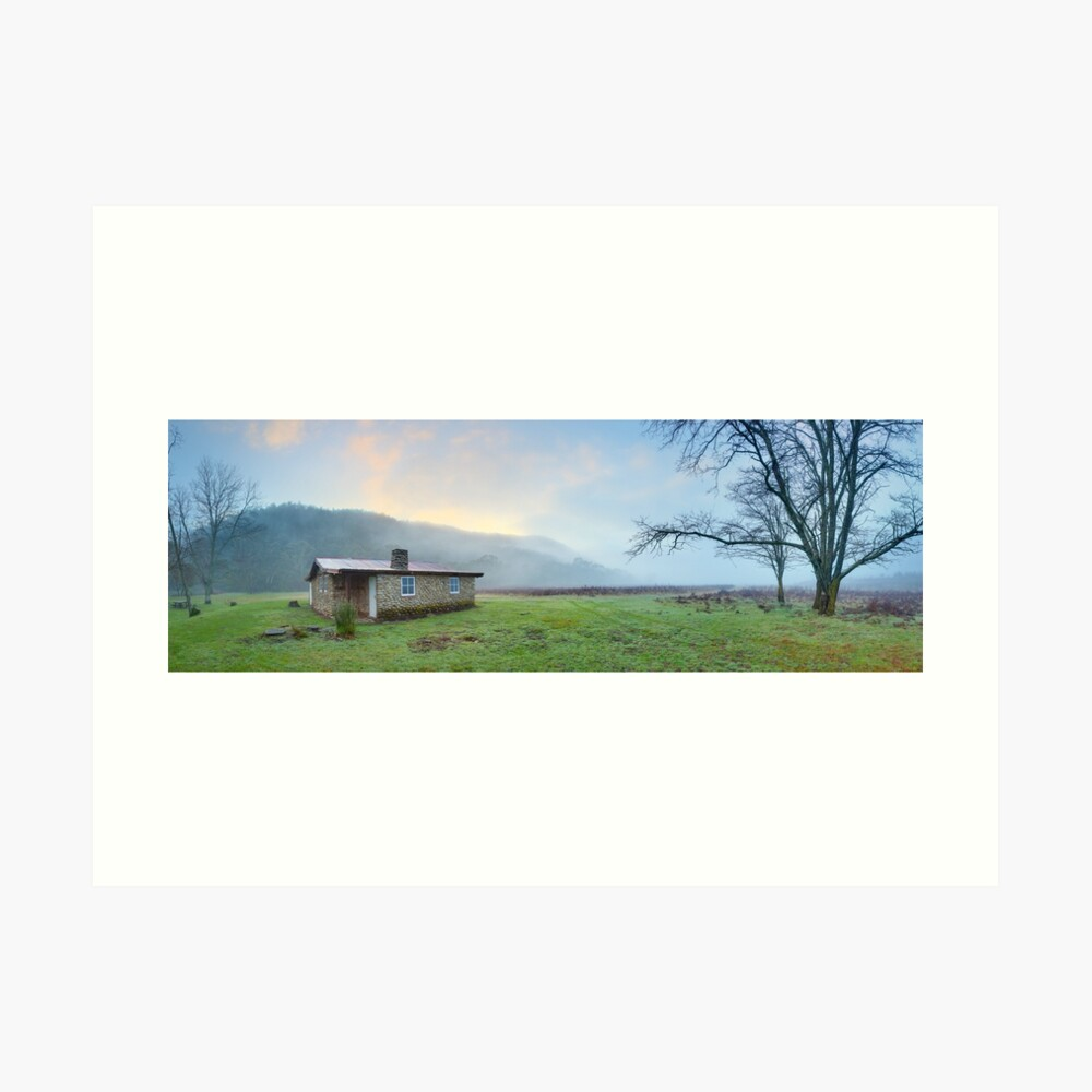 Keebles Hut, Kosciuszko National Park, New South Wales, Australia Art Print