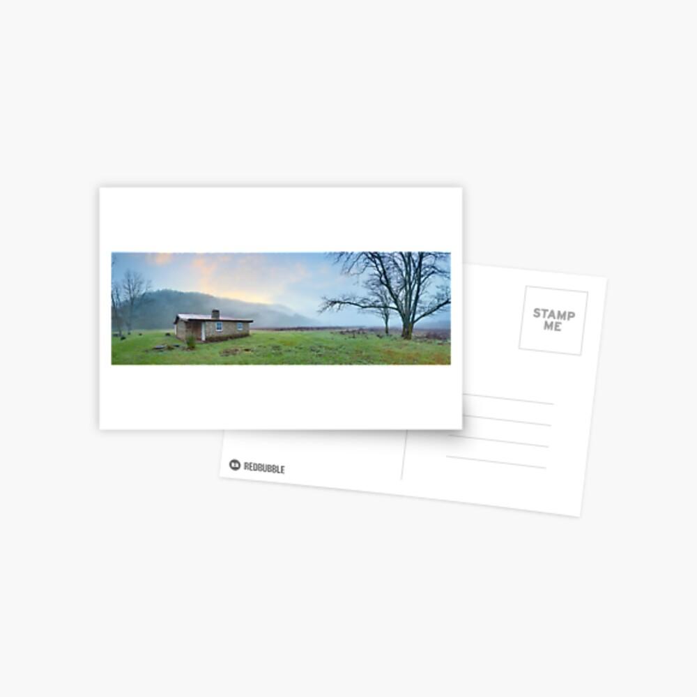 Keebles Hut, Kosciuszko National Park, New South Wales, Australia Postcard