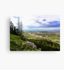 Flathead Valley Overlook Canvas Print