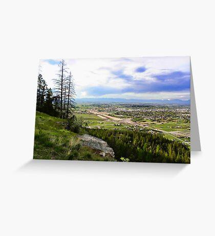 Flathead Valley Overlook Greeting Card