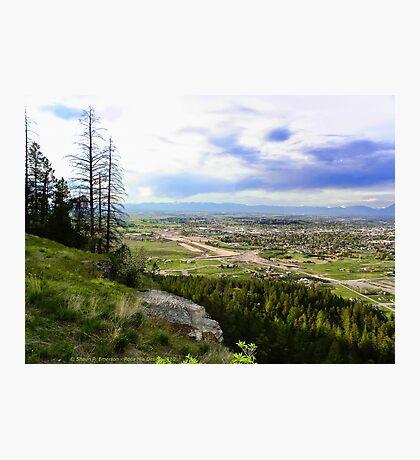 Flathead Valley Overlook Photographic Print