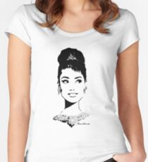 Audrey 2 Women's Fitted Scoop T-Shirt