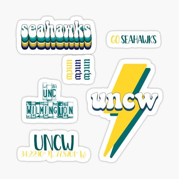 UNCW Sticker Pack Sticker