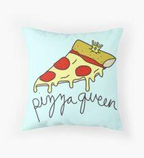 Pizza Queen ♡♕ Sassy/Trendy/Hipster/Tumblr Meme Throw Pillow