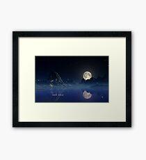 Moonlight - Earthscape Framed Print