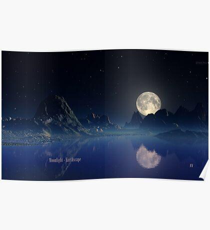 Moonlight - Earthscape Poster