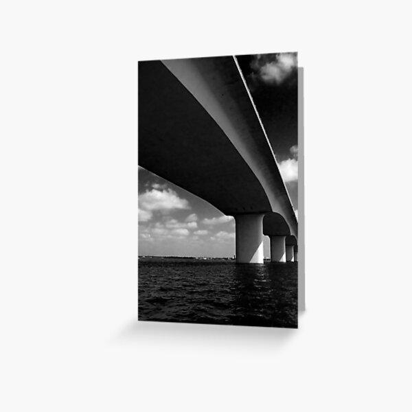 Bridge, Sarasota Greeting Card