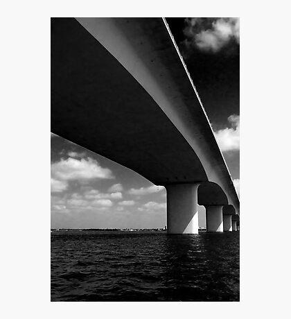Bridge, Sarasota Photographic Print