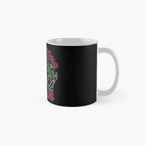 Peace Among Worlds neon Classic Mug