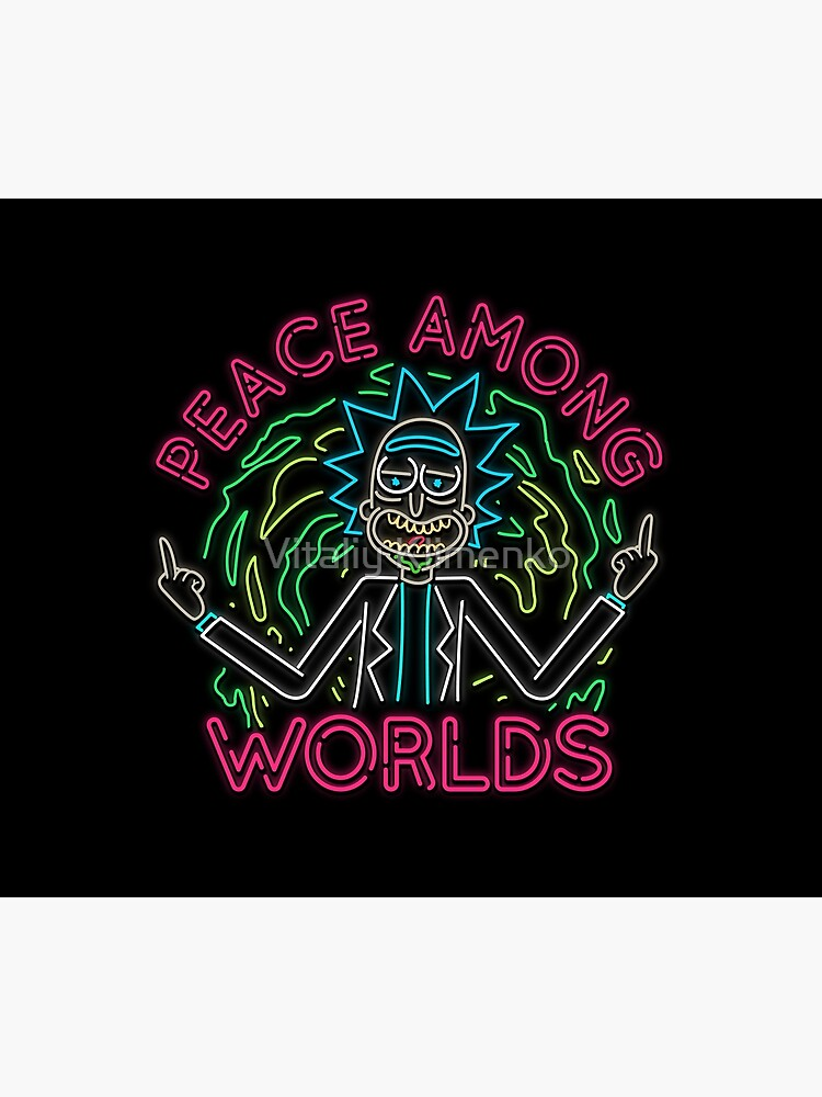 Peace Among Worlds neon by Donot