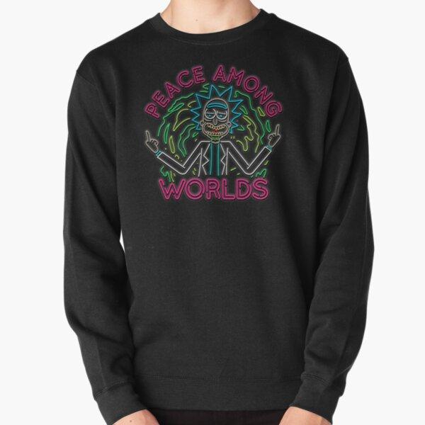 Peace Among Worlds neon Pullover Sweatshirt