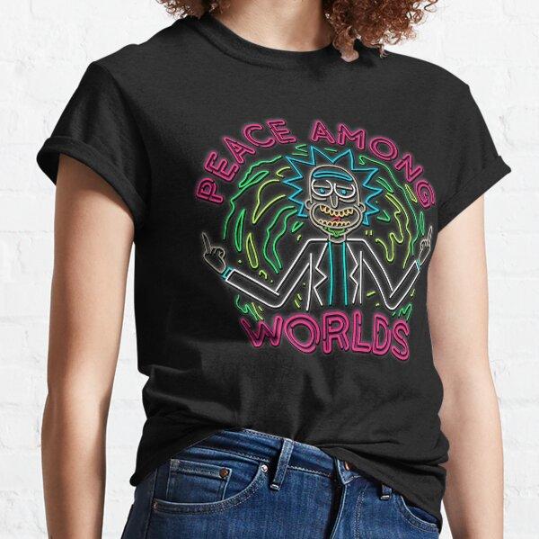Peace Among Worlds neon Classic T-Shirt
