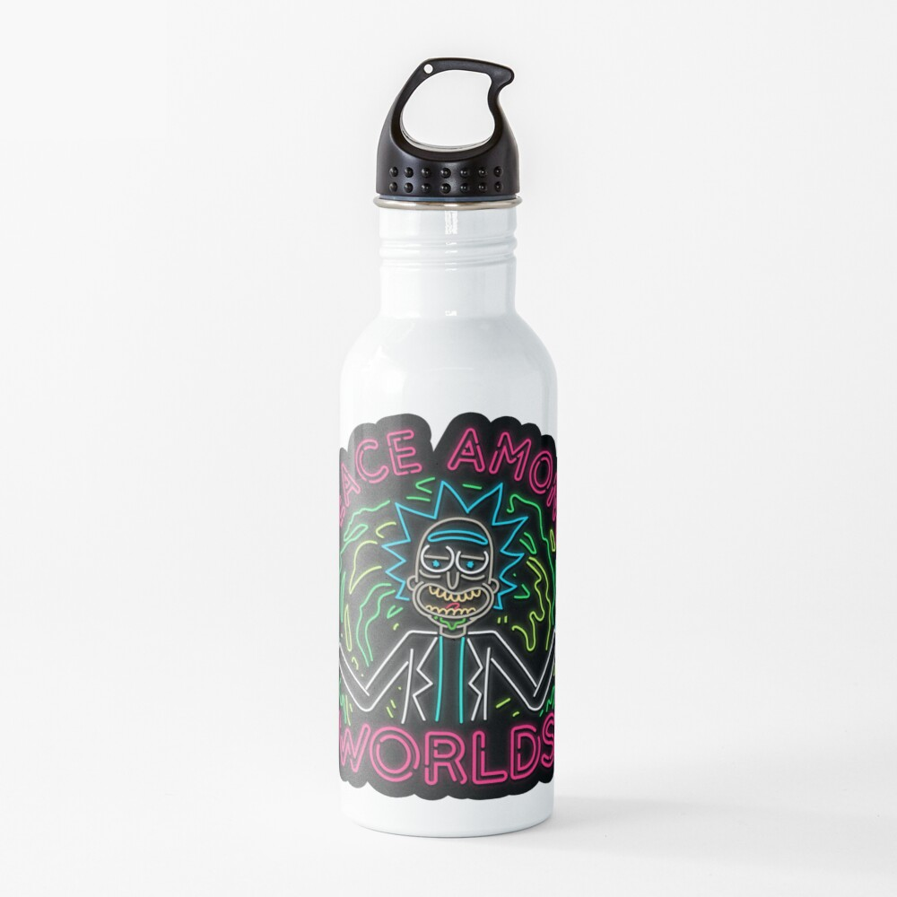 Peace Among Worlds neon Water Bottle
