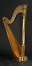 Antique Harp -1900's Era Wurlitzer Harp by Stephen Beattie