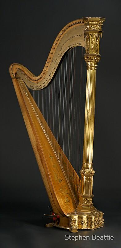 Quot Antique Harp 1900 S Era Wurlitzer Harp Quot By Stephen