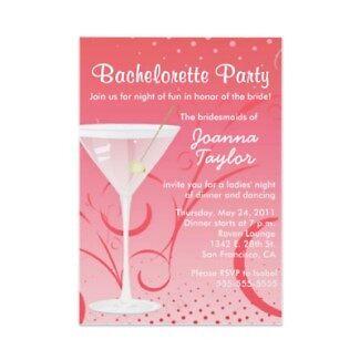 Bachelorette invitations by Buford Burows