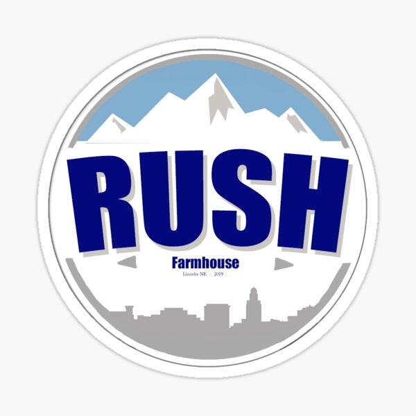 Rush Farmhouse  Sticker