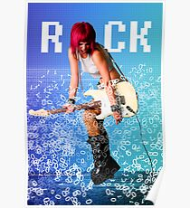 When the Bytes Break Into Bits!!! Let There Be ROCK! Poster