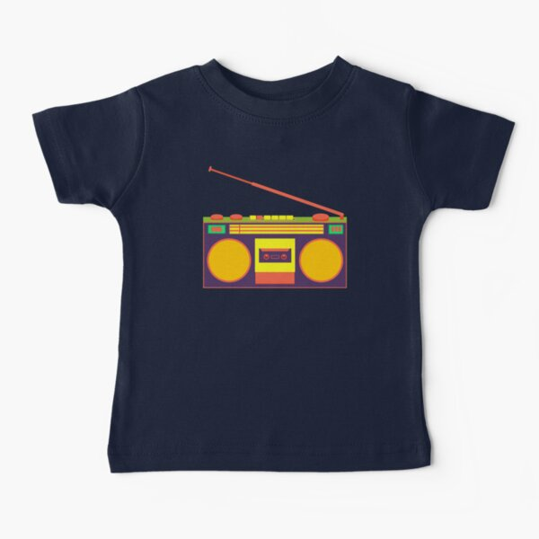 boombox - old cassette - Devices Baby T-Shirt