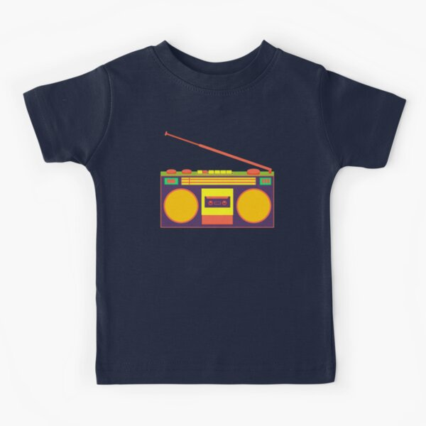 boombox - old cassette - Devices Kids T-Shirt