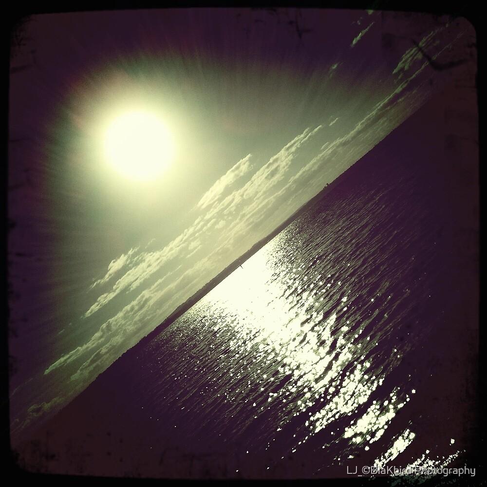 hipsta Gradient Series- Sunset ripple effects No.3 by LJ_©BlaKbird Photography