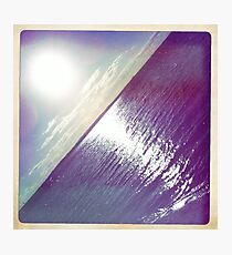 hipsta Gradient Series- Sunset ripple effects No.4 Photographic Print
