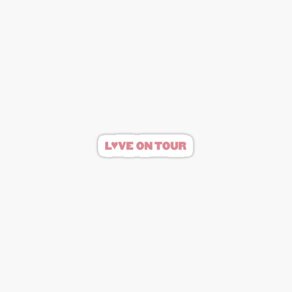 Harry Styles Love On Tour Pink Sticker