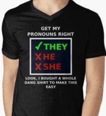 A Whole Dang Shirt Men's V-Neck T-Shirt