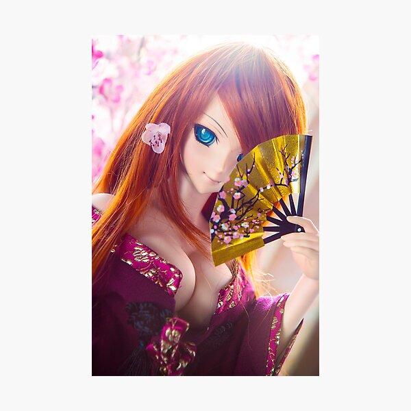 Golden fan · Yuuko Photographic Print