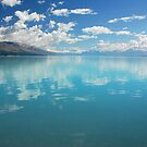 Lake Pukaki, New Zealand by Janet Leadbeater