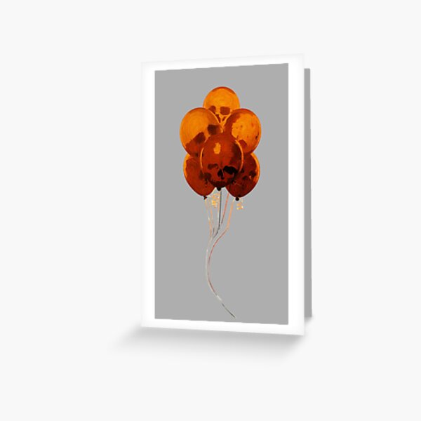 SKULLOONS B21 Greeting Card
