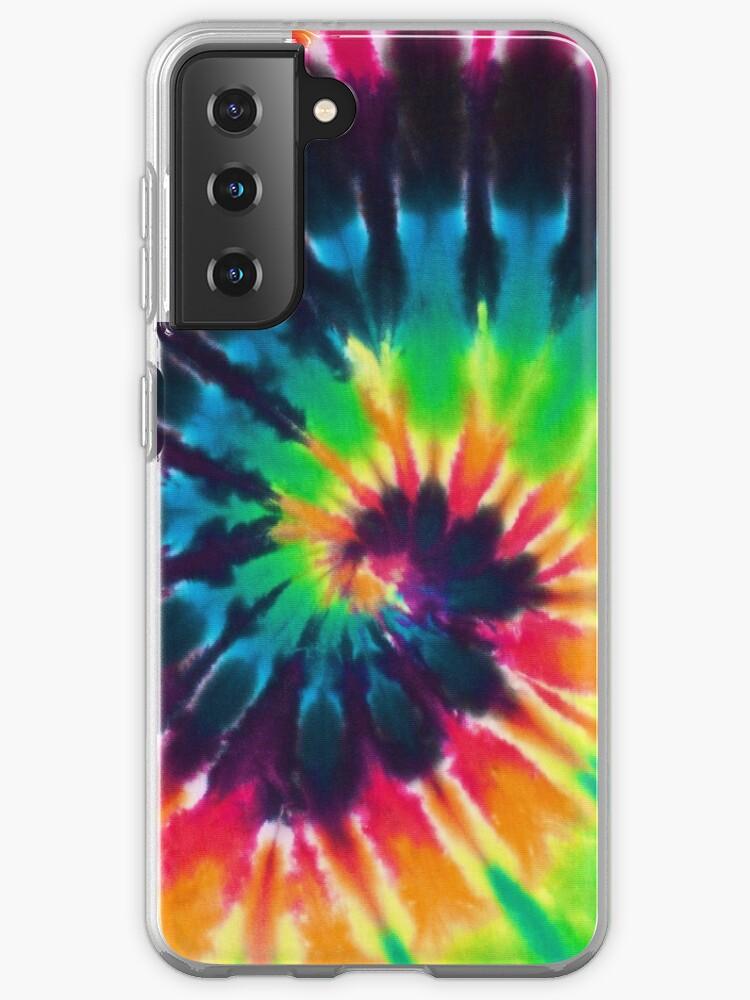 Tie Die Retro Flexi Phone Case Colourful iPhone Samsung