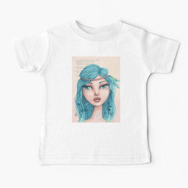Feathers in Her Hair Baby T-Shirt