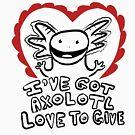 Axolotl Love by Jennifer Snyder