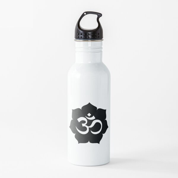 Mantra OM Botella de agua