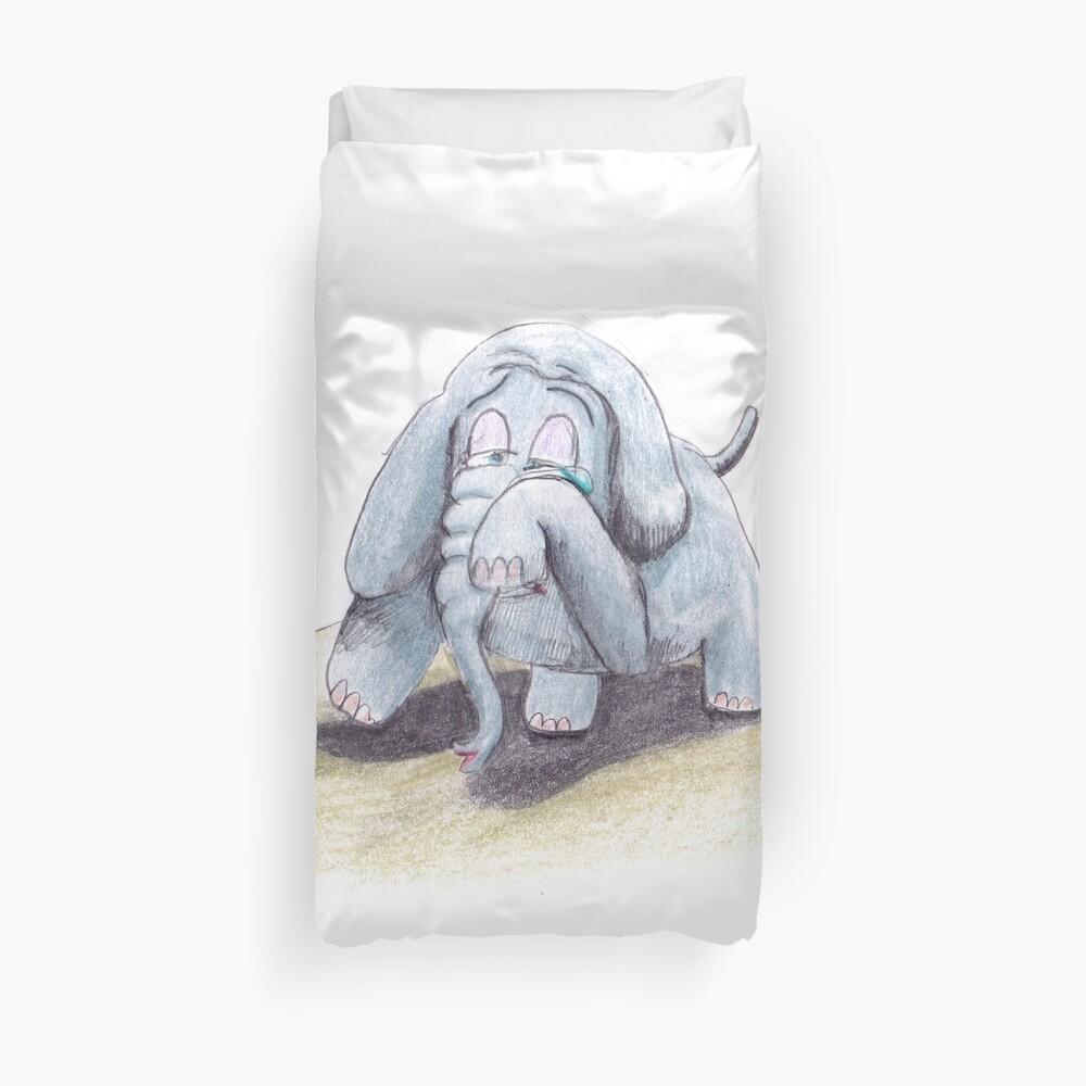 Binky the Elephant Duvet Cover